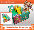 Ibebe - Marshmallow Baby Slide Big Play Zone