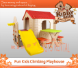 Fun Kids Climbing Playhouse