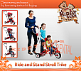 Radio Flyer - Ride and Stand Stroll Trike